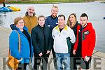 Tralee Marathon volunteers  Angela O'Mahony, Jim McNeice, Marie O'Shea, Ed O'Connor, Padraig O'Mahony, Emer Clifford and Wayne Murphy.