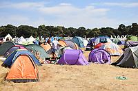 Latitude Festival, Henham Park, Suffolk, UK July 2018. Camping