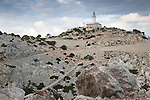 Lighthouse on the Cape of Formentor in Majorca, Spain