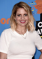 LOS ANGELES, CA - MARCH 24:  Candace Cameron Bure at Nickelodeon's 2018 Kids' Choice Awards at The Forum on March 24, 2018 in Los Angeles, California. (Photo by Scott KirklandPictureGroup)