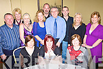 Enjoying the Listowel Hospital social in the Listowel Arms Hotel on Saturday night were, front l-r Liz O'Donnell, Catherina McElligott and  Mary Dunne.  Back l-r John Enright, Eileen Sheehan, Marlyn Barrett, Susan Sweeney, Jimmy Sheehan, Bartolamu O'Donnell, Sid Sheehan, Marie Coakley and Angela Murphy. .