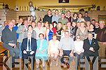 Mike&Siobhan O'Brien,Dromtacker,Tralee(seated centre)celebrated their 25th wedding anniversary last Saturday night in Stokers Lodge,Tralee surrounded by family,friends and neighbours.