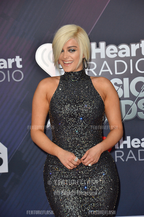 Bebe Rexha at the 2018 iHeartRadio Music Awards at The Forum, Los Angeles, USA 11 March 2018<br /> Picture: Paul Smith/Featureflash/SilverHub 0208 004 5359 sales@silverhubmedia.com