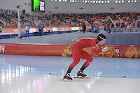 OLYMPICS: SOCHI: Adler Arena, 08-02-2014, 5000 m Men, Sverre Lunde Pedersen (NOR), ©foto Martin de Jong