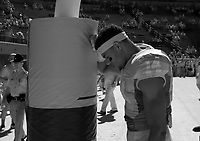 Scenes from the UVa/Richmond football game photographed in infrared Saturday Sept. 6, 2014 at Scott Stadium in Charlottesville, VA. Virginia defeated Richmond 45-13. Photo/The Daily Progress/Andrew Shurtleff