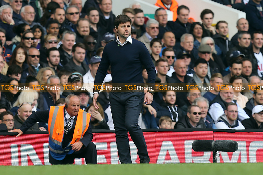 Tottenham Hotspur manager Mauricio Pochettino during Tottenham Hotspur vs AFC Bournemouth, Premier League Football at White Hart Lane on 15th April 2017
