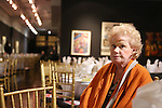 Tammy Grimes attends the '12th Annual Love N' Courage' celebrating David Amram and Tammy Grimes at The National Arts Club on March 2,, 2015 in New York City.