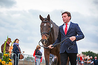 NZL-Dan Jocelyn with Grovine de Reve during the First Horse Inspection. 2017 NED-Military Boekelo CCIO3* FEI Nation Cup Eventing. Wednesday 4 October. Copyright Photo: Libby Law Photography