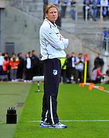 FUSSBALL 1. BUNDESLIGA   SAISON   2012/2013: RELEGATION   RUECKSPIEL 1. FC Kaiserslautern - TSG 1899 Hoffenheim         27.05.2013 Trainer Markus Gisdol (TSG 1899 Hoffenheim)