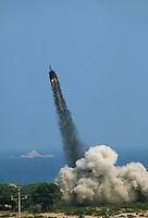 - military polygon of Salto di Quirra / Perdasdefogu (Sardinia), launch of  a tactical nuclear missile &quot;Lance&quot;<br /> <br /> - poligono militare di Salto di Quirra / Perdasdefogu (Sardegna), lancio di un missile nucleare tattico &quot;Lance&quot;