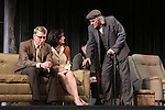 Steven Epp, Felicity Jones, Jarlath Conroy star in Harold Pinter's The Homecoming at Centerstage, Baltimore, Maryland. Dress Rehearsal - January 27, 2011. (Photos by Sue Coflin/Max Photos)