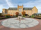 October 30, 2018; Jordan Hall of Science - Fall 2018. (Photo by Barbara Johnston/University of Notre Dame)