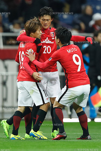 Urawa Reds team group, FEBRUARY 28, 2017 - Football / Soccer : 2017 AFC Champions League Group F match between Urawa Reds 5-2 FC Seoul <br /> at Saitama Stadium 2002, Saitama, Japan. <br /> (Photo by Sho Tamura/AFLO SPORT)