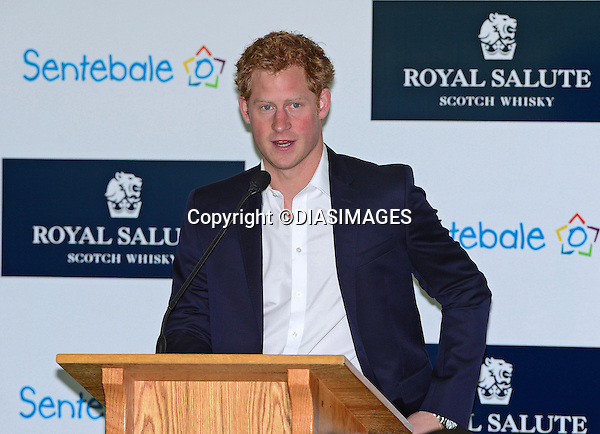"""PRINCE HARRY.makers a speech at the lunch prior to the Sentabale Charity Polo Match at the Greenwich Polo Club, Conneticut_15/05/2013.Prince Harry is on a week long USA visit the includes Washington, Denver, Colorado Springs, New Jersey, New York and Conneticut..Mandatory credit photo:©DIASIMAGES..NO UK USE UNTIL 11/06/2013.(Failure to credit will incur a surcharge of 100% of reproduction fees)..**ALL FEES PAYABLE TO: """"NEWSPIX  INTERNATIONAL""""**..Newspix International, 31 Chinnery Hill, Bishop's Stortford, ENGLAND CM23 3PS.Tel:+441279 324672.Fax: +441279656877.Mobile:  07775681153.e-mail: info@newspixinternational.co.uk"""