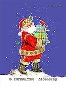 GIORDANO, CHRISTMAS SANTA, SNOWMAN, WEIHNACHTSMÄNNER, SCHNEEMÄNNER, PAPÁ NOEL, MUÑECOS DE NIEVE, paintings+++++,USGI2264M,#X#