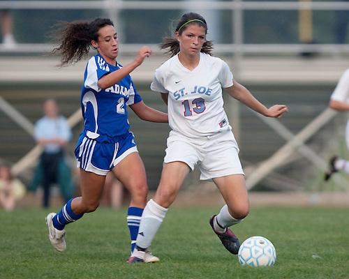 Saint Joseph's High School Soccer 2009.St. Joe vs. Adams