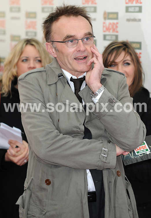**ALL ROUND PICTURES FROM SOLARPIX.COM**.**WORLDWIDE SYNDICATION RIGHTS**.arrivals for The Empire Film Awards, Grosvenor House Hotel, London, UK. 29 March 2009..This pic: Danny Boyle..JOB REF:  8740 SSD     DATE: 29_03_2009.**MUST CREDIT SOLARPIX.COM OR DOUBLE FEE WILL BE CHARGED**.**ONLINE USAGE FEE GBP 50.00 PER PICTURE - NOTIFICATION OF USAGE TO PHOTO @ SOLARPIX.COM**.**CALL SOLARPIX : +34 952 811 768 or LOW RATE FROM UK 0844 617 7637**