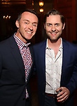 Andrew Lippa and Michael McCorry Rose attends the DGF Salon with Stephen Schwartz at the Uterberg Residence on May 1, 2017 in New York City.