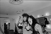 MOTLEY CRUE, LIVE AND BACKSTAGE, 1984, NEIL ZLOZOWER