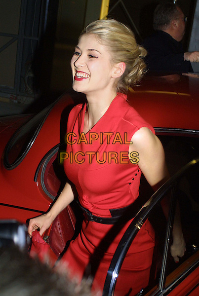 ROSAMUND PIKE.Hitchcock Blonde aftershow party at Gainsborough Studios.www.capitalpictures.com.sales@capitalpictures.com.©Capital Pictures