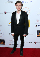 SANTA MONICA, CA, USA - OCTOBER 26: Callan McAuliffe arrives at the 3rd Annual Australians in Film Awards Benefit Gala held at the Starlight Ballroom at Fairmont Miramar Hotel & Bungalows on October 26, 2014 in Santa Monica, California, United States. (Photo by Xavier Collin/Celebrity Monitor)