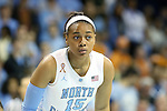 11 November 2013: North Carolina's Allisha Gray. The University of North Carolina Tar Heels played the University of Tennessee Lady Vols in an NCAA Division I women's basketball game at Carmichael Arena in Chapel Hill, North Carolina. Tennessee won the game 81-65.