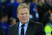 28th September 2017, Goodison Park, Liverpool, England; UEFA Europa League group stage, Everton versus Apollon Limassol; Ronald Koeman manager of Everton FC
