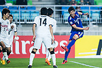 Suwon Forward Park Gidong (R) in action during the AFC Champions League 2017 Group G match between Suwon Samsung Bluewings (KOR) vs Kawasaki Frontale (JPN) at the Suwon World Cup Stadium on 25 April 2017, in Suwon, South Korea. Photo by Yu Chun Christopher Wong / Power Sport Images
