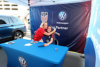 CHARLOTTE, NC - OCTOBER 3: Volkswagen FanHQ during a game between Sponsorship at Bank of America Stadium on October 3, 2019 in Charlotte, North Carolina.