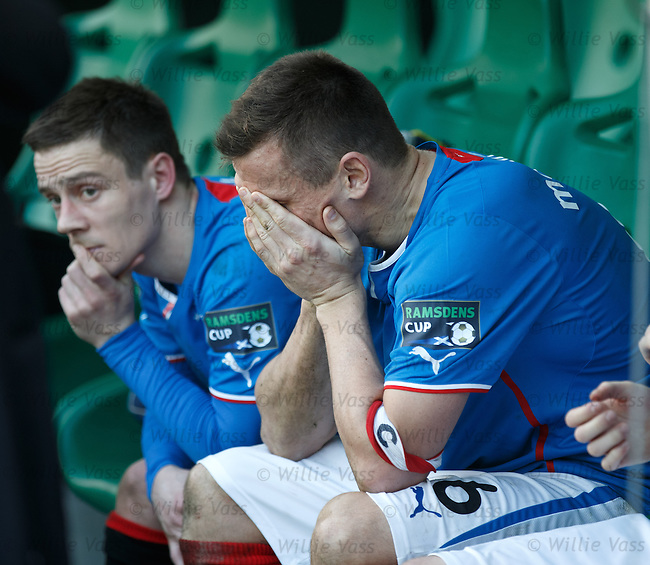 Dejection from Lee McCulloch and Ian Black