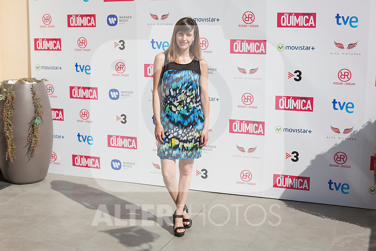 Natalia de Molina poses during the `Solo quimica´ film presentation in Madrid, Spain. July 14, 2015. (ALTERPHOTOS/Victor Blanco)