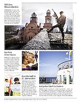 German weekly magazine DER SPIEGEL on the separatist conflict in Eastern Ukraine, 11.2014.<br /> Picture: Arturas Morozovas