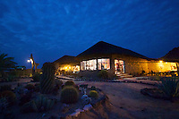 Tourist lodge at Brandberg, Namibia