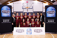 2019 Schick Secondary Schools Basketball National Championship A awards ceremony at the Central Energy Trust Arena in Palmerston North, New Zealand on Thursday, 3 October 2019. Photo: Kevin Bills / lintottphoto.co.nz