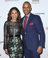 06 February 2019 - Hollywood, California - Salli Richardson-Whitfield, Dondre Whitfield. 10th Annual AAFCA Awards held at Taglyan Complex. Photo Credit: Birdie Thompson/AdMedia