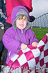 Dromid lady Chloe Leneghan enjoying the game on Sunday in Waterville.