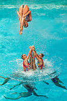Ukraina UKR<br /> 8th FINA Synchronised Swimming World Trophy <br /> Day02 Nov. 30 -  Team Free routine<br /> Mexico City 29 November - 1 December<br /> Photo G.Scala/Deepbluemedia.eu/Insidefoto