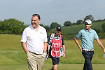 ISPS Handa Wales Open 2012.Welsh opera singer Bryn Terfel playing alongside Rhys Davies in the Pro-Am tournament...30.05.12.©Steve Pope