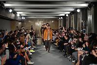 LISBOA, PORTUGAL, 11.03.2016 - MODA-PORTUGAL - Modelo durante desfile da grife Nair Xavier na Lisboa Fashion Week, em Lisboa, Portugal, nessa sexta 11. (Foto: Bruno de Carvalho/Brazil Photo Press)