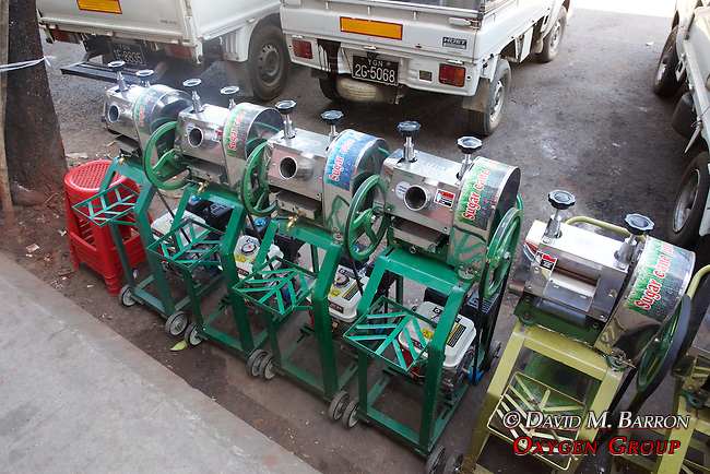 Sugar Cane Juicing Machines Near Gyee Zai Market