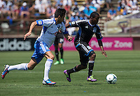 Santa Clara, California -Saturday, May 4 2013: San Jose Earthquakes and Montreal Impact game ended a 2-2 draw at Buck Shaw Stadium