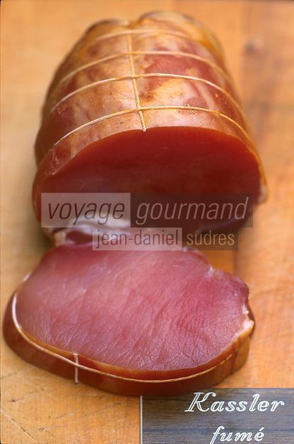 Europe/France/Alsace/67/Bas-Rhin/Strasbourg: Le kassler fumé ingédient de la choucroute alsacienne