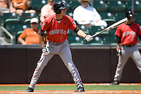 Shortstop Kelby Tomlinson #4 of the Texas Tech Red Raiders YYY against the Texas Longhorns on April 17, 2011 at UFCU Disch-Falk Field in Austin, Texas. (Photo by Andrew Woolley / Four Seam Images)