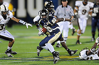 22 November 2008:  FIU wide receiver Jason Frierson (80) breaks into the ULM secondary in the ULM 31-27 victory over FIU at FIU Stadium in Miami, Florida.