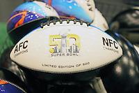 Super Bowl 50 Football - Super Bowl 50 Merchandising, Moscone Center San Francisco