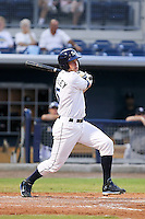 May 18, 2010 Outfielder Henry Wrigley of the Charlotte Stone Crabs during a game at Charlotte Sports Park in Port Charlotte FL. The Stone Crabs are the Florida State League Class-A affiliate of the Tampa Bay Rays,Photo by: Mark LoMoglio/Four Seam Images
