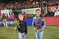 Portland, Oregon - Sunday September 11, 2016: Girls Inc Girls of the Game during a regular season National Women's Soccer League (NWSL) match at Providence Park.