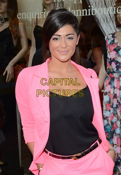HORNCHURCH, ESSEX, JUL 24: Casey Batchelor; Danielle Armstrong opens new boutique 'Danni' at North Street, Hornchurch, Essex on July 24th 2014 in England, UK.<br /> CAP/PP/MB<br /> &copy;Michael Ball/PP/Capital Pictures