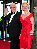 Former Speaker of the United States House of Representatives Newt Gingrich (Republican of Georgia) and his wife, Callista, arrive for the 2013 White House Correspondents Association Annual Dinner at the Washington Hilton Hotel on Saturday, April 27, 2013..Credit: Ron Sachs / CNP.(RESTRICTION: NO New York or New Jersey Newspapers or newspapers within a 75 mile radius of New York City)