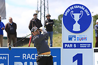 Richie Ramsay (SCO) on the 1st tee during Round 2 of the Open de Espana 2018 at Centro Nacional de Golf on Friday 13th April 2018.<br /> Picture:  Thos Caffrey / www.golffile.ie<br /> <br /> All photo usage must carry mandatory copyright credit (&copy; Golffile | Thos Caffrey)